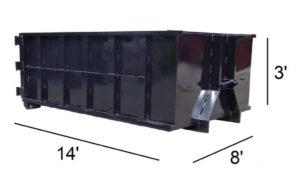 10-Yard Dumpster rental