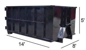 20 yard dumpster rental price