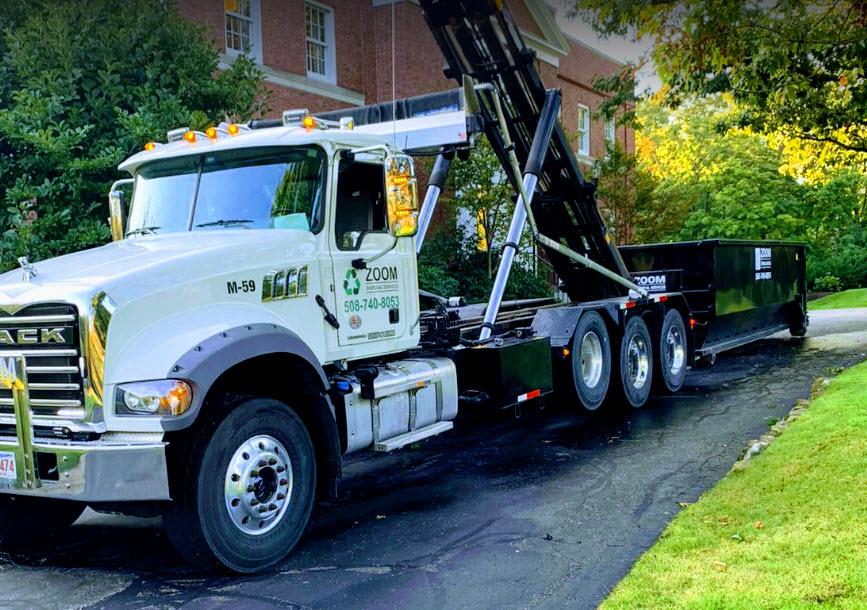 10 yard roll off dumpster rental Concord MA