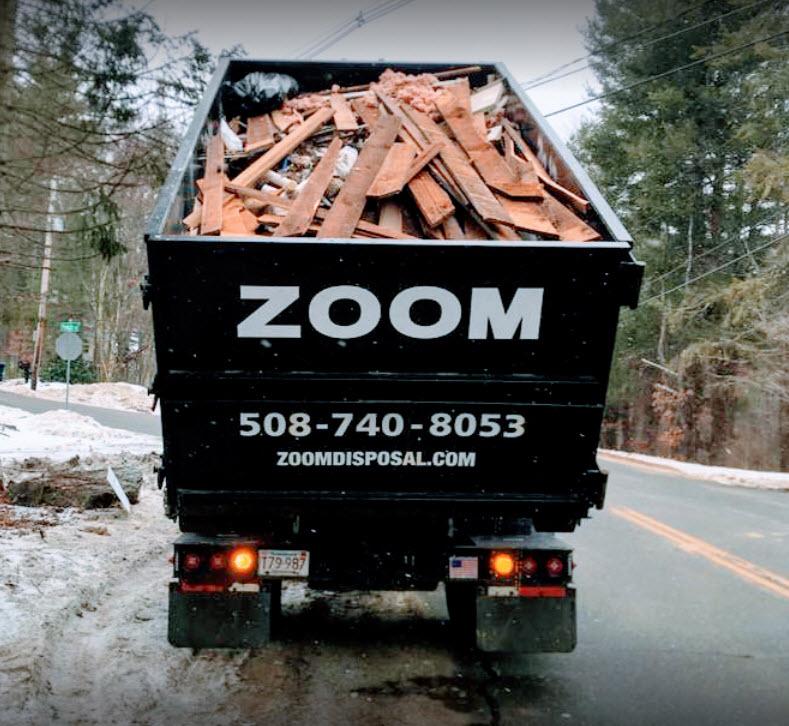 local roll off dumpster rental services Maynard MA